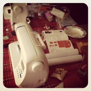"""les nostres """"machines"""" i el desgavell de la taula"""